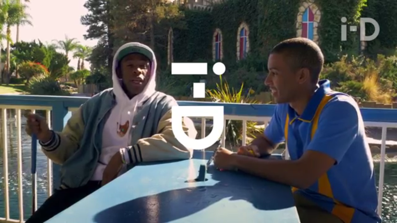 7a10fb8e5819 Tyler The Creator   Mikey Alfred of Illegal Civilization hangs out with i-D  to talk about how boring golf is