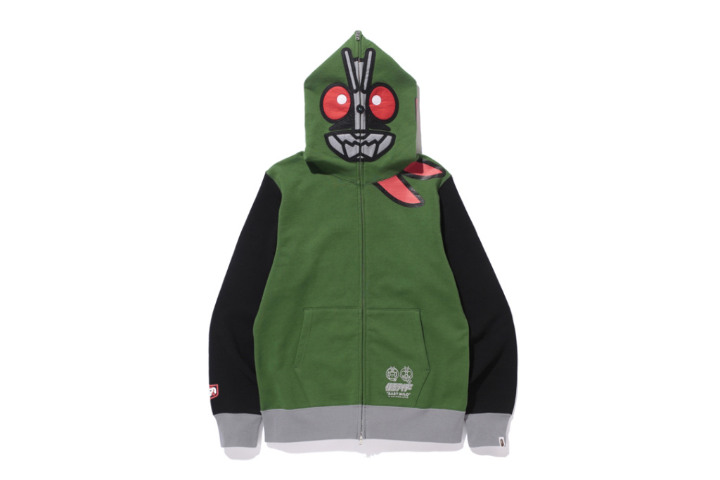 d09a2cc62893 Baby Milo join forces with Kamen Rider for the latest Bape collab – The NEw  Yuth